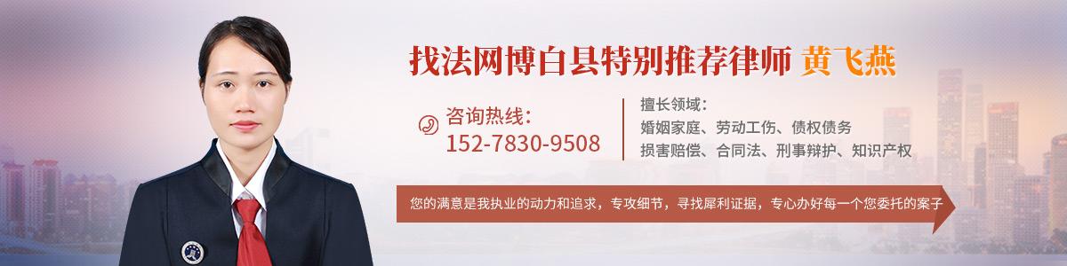 博白县黄飞燕律师