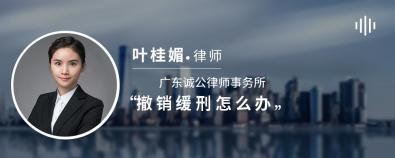 撤销缓刑怎么办-叶桂媚律师