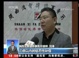 央视CCTV13频道采访