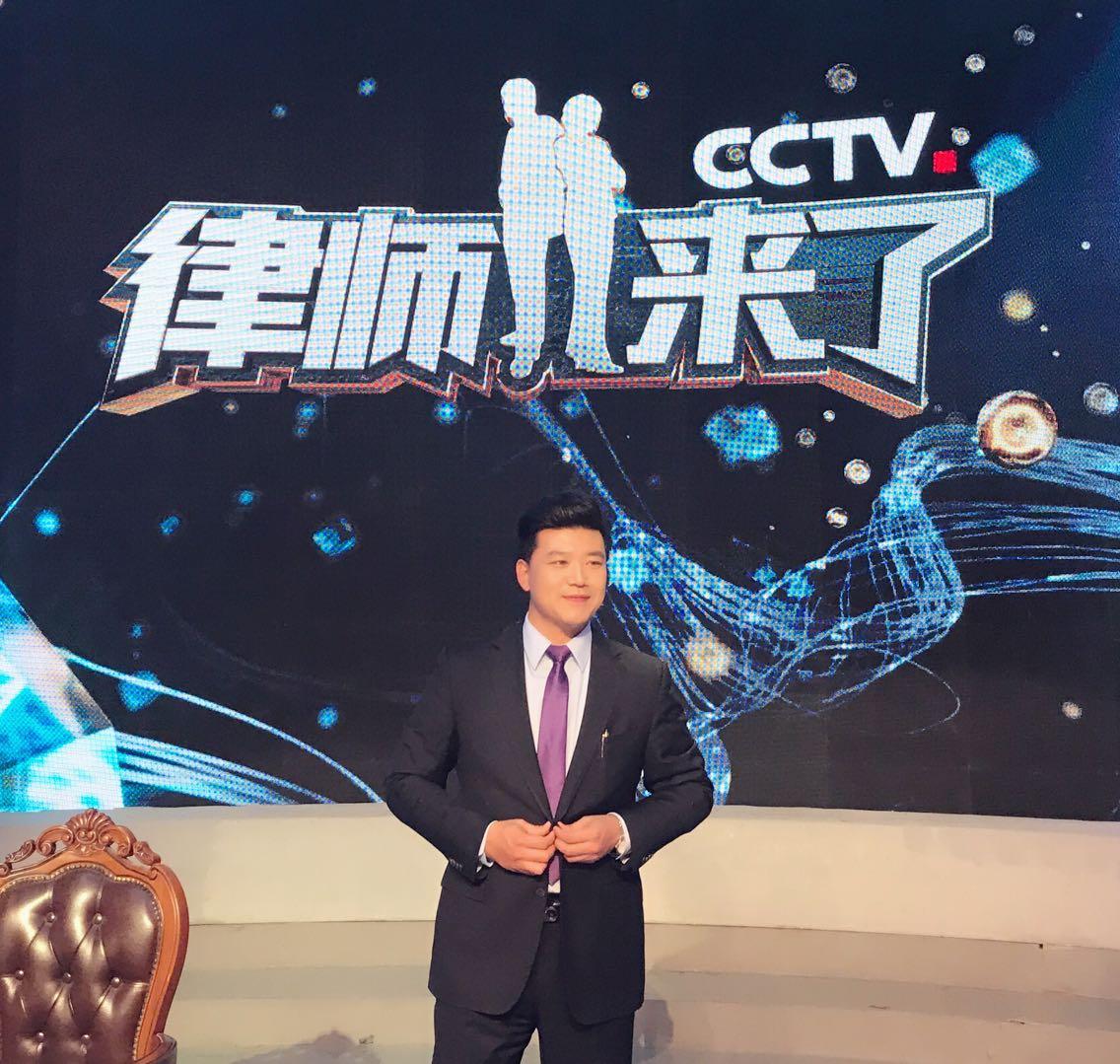 CCTV-12《律师来了》节目现场录制