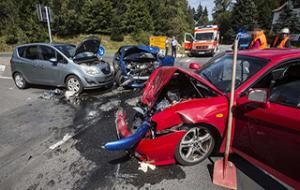 發生交通事故