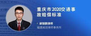 重庆市2020交通事故赔偿标准